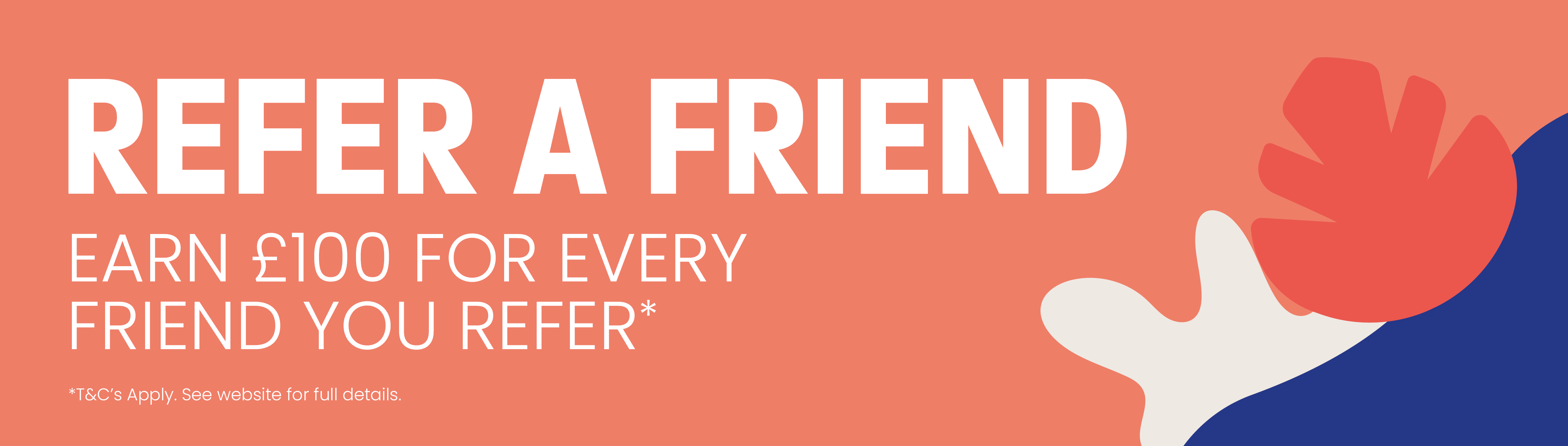 Refer a friend and save money